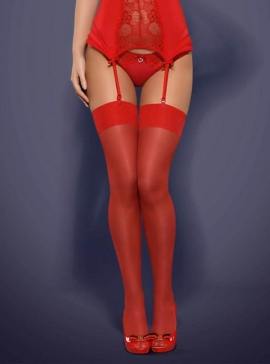 Stockings red S/M